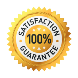 we offer 100% satisfaction guarantee plumbing services